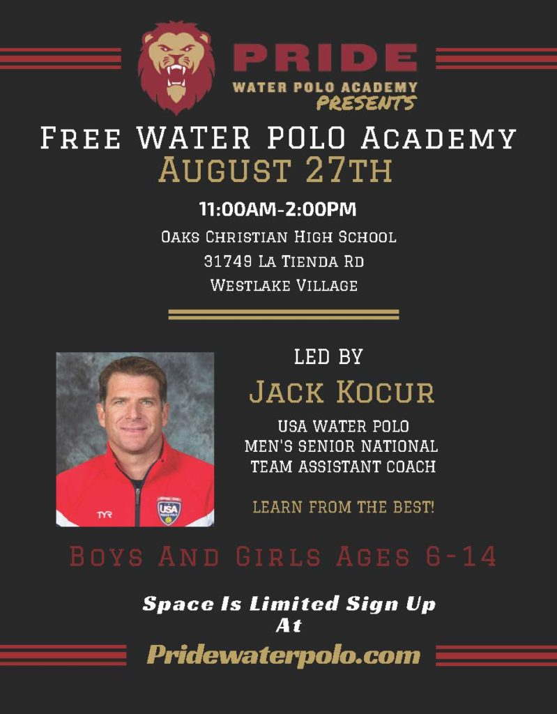 Pride Academy Clinic August 2016